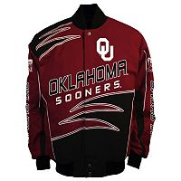 Men's Franchise Club Oklahoma Sooners Shred Twill Jacket