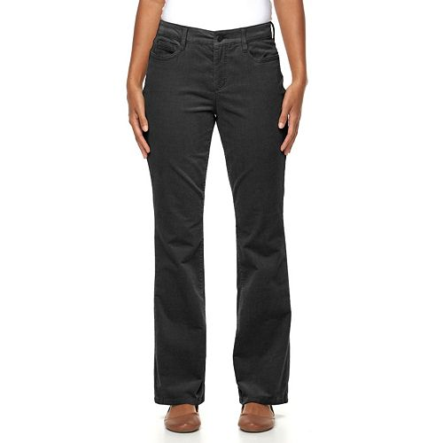 great deals 2017 big selection reasonably priced Women's Croft & Barrow® Classic Fit Bootcut Corduroy Pants