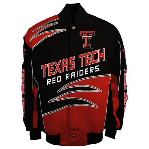 Men's Franchise Club Texas Tech Red Raiders Shred Twill Jacket