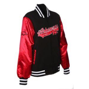 Women's Franchise Club Arkansas Razorbacks Sweetheart Varsity Jacket