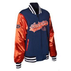 Women's Franchise Club Auburn Tigers Sweetheart Varsity Jacket
