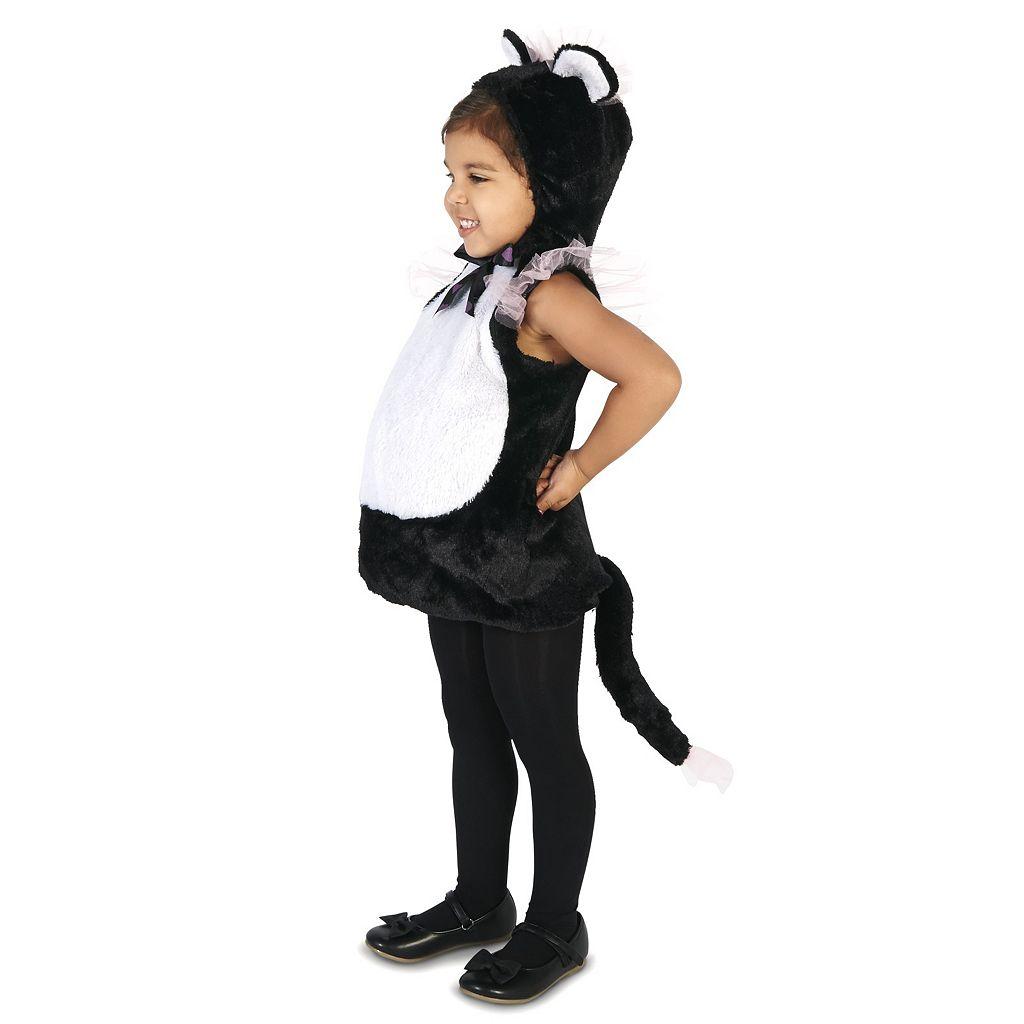 Toddler Elegant Kitty Princess Costume