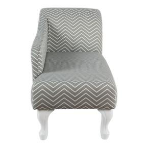 HomePop Kids Velvet Chaise Lounge