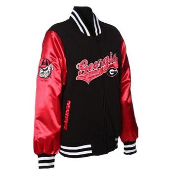 Women's Franchise Club Georgia Bulldogs Sweetheart Varsity Jacket