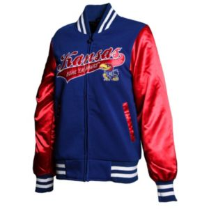 Women's Franchise Club Kansas Jayhawks Sweetheart Varsity Jacket