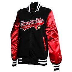 Women's Franchise Club Louisville Cardinals Sweetheart Varsity Jacket