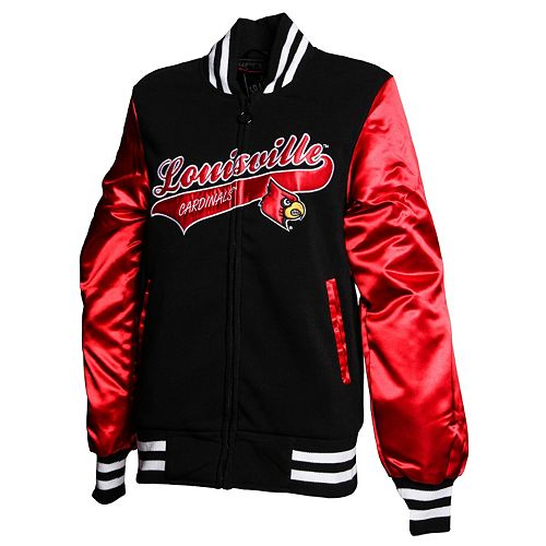 Women's Franchise Club Louisville Cardinals Sweetheart Varsity Jacket