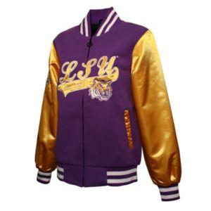 Women's Franchise Club LSU Tigers Sweetheart Varsity Jacket
