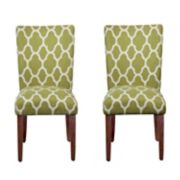 HomePop Geometric Parson Chair 2-piece Set