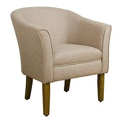 HomePop Chunky Textured Accent Chair