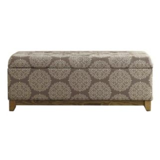 HomePop Medallion Storage Bench
