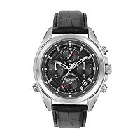 Bulova Men's Precisionist Leather Chronograph Watch - 96B259
