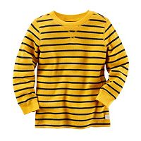 Baby Boy Carter's Striped Thermal Long Sleeve Tee