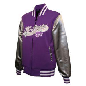 Women's Franchise Club Kansas State Wildcats Sweetheart Varsity Jacket