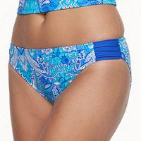 Women's Aqua Couture Paisley Hipster Bikini Bottoms