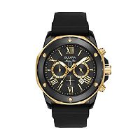 Bulova Men's Marine Star Two Tone Chronograph Watch - 98B278