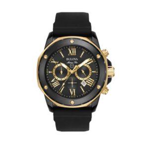 Bulova Men's Marine Star Two Tone Chronograph Watch - 98B278