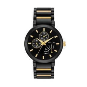 Bulova Men's Classic Two Tone Stainless Steel Watch -  98C124