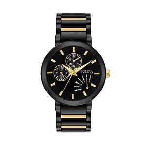 b55ece412680 Bulova Men s Classic Two Tone Stainless Steel Watch - 98C123