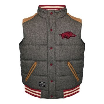 Men's Franchise Club Arkansas Razorbacks Legacy Reversible Vest