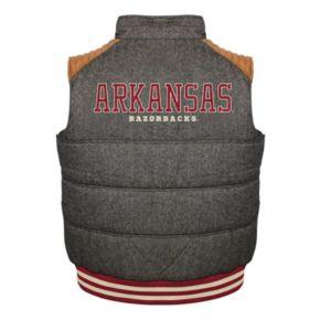 Men's Franchise Club Arkansas Razorbacks Legacy Reversible Vest