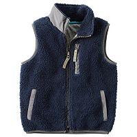 Boys 4-8 Carter's Sherpa Vest