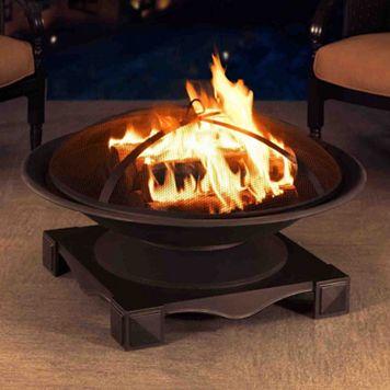 Sunjoy Cast Steel Fire Pit