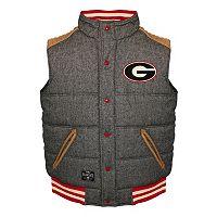 Men's Franchise Club Georgia Bulldogs Legacy Reversible Vest