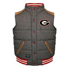Men's Franchise Club Georgia Bulldogs Legacy Reversible Vest