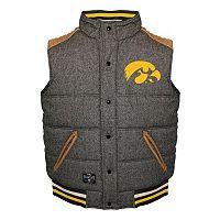 Men's Franchise Club Iowa Hawkeyes Legacy Reversible Vest