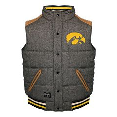 Men's Franchise Club Iowa Hawkeyes Legacy Reversible Vest
