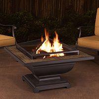 Sunjoy Steel Fire Pit