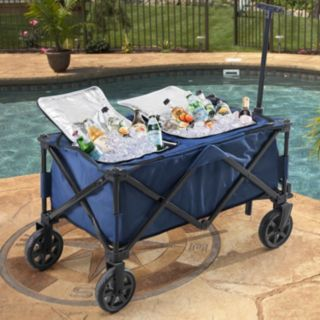 Sunjoy Wheeled Collapsible Cooler