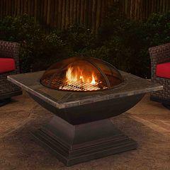 Sunjoy Slate Top Fire Pit