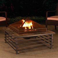 Sunjoy Dane Steel Fire Pit
