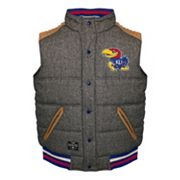 Men's Franchise Club Kansas Jayhawks Legacy Reversible Vest