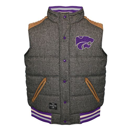 Men's Franchise Club Kansas State Wildcats Legacy Reversible Vest