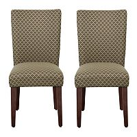 HomePop Parson Dining Chair 2-piece Set