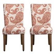 HomePop Parson Dining Chair 2 pc Set