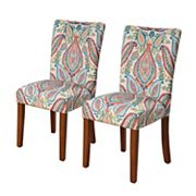 HomePop Parson Dining Chair 2 pc Set