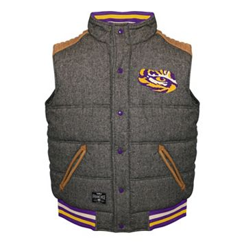 Men's Franchise Club LSU Tigers Legacy Reversible Vest