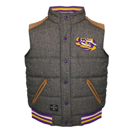 Men's Franchise Club LSU Tigers Legacy Reversible Vest