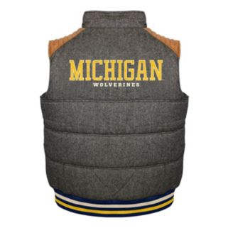 Men's Franchise Club Michigan Wolverines Legacy Reversible Vest