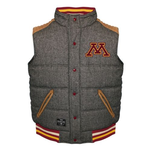 Men's Franchise Club Minnesota Golden Gophers Legacy Reversible Vest