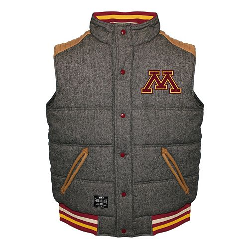Men's Franchise Club Minnesota Golden Gophers Legacy Reversible Vest