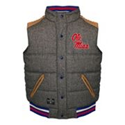 Men's Franchise Club Ole Miss Rebels Legacy Reversible Vest