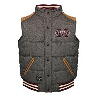 Men's Franchise Club Mississippi State Bulldogs Legacy Reversible Vest
