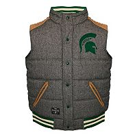 Men's Franchise Club Michigan State Spartans Legacy Reversible Vest