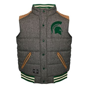Men's Franchise Club Michigan State Spartans Legacy Reversible Vest