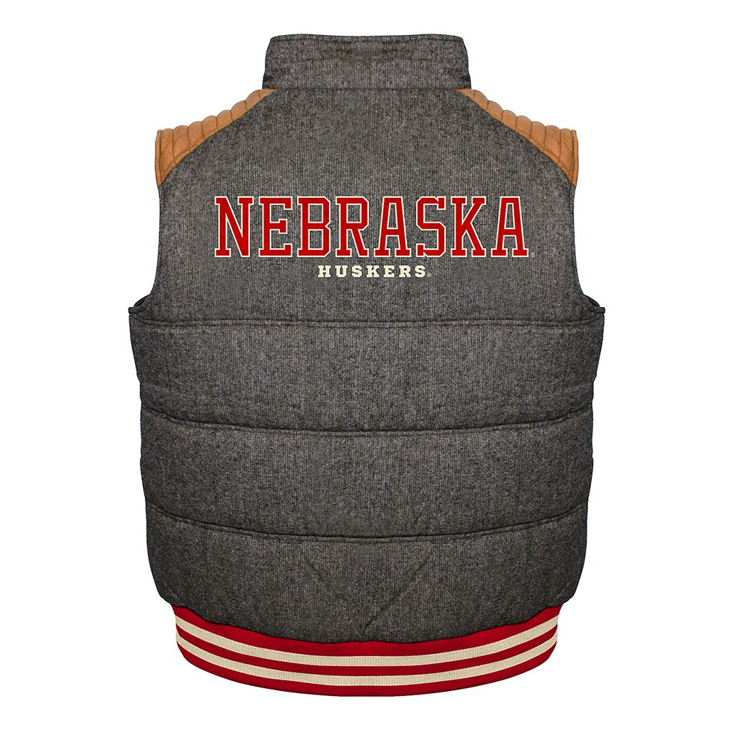 Men's Franchise Club Nebraska Cornhuskers Legacy Reversible Vest